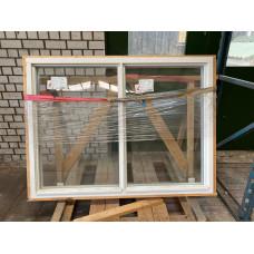 Kozijn hardhout 160 x 120 cm met HR++ glas