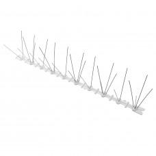 DUIVENPENNEN / PINNEN 2-PINS RVS STROOK 50 X 9 X 10 CM