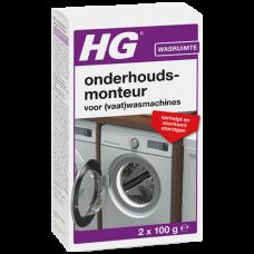 HG ONDERHOUDSMONTEUR VOOR (VAAT)WASMACHINES 2 X 100 G