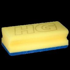 HG SANITAIRSPONS BLAUW/GEEL
