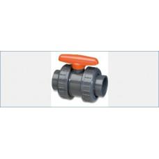 KOGELKRAAN PVC 20 MM MET 2 X WARTEL
