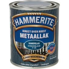 HAMMERITE METAALLAK DONKERBLAUW 250 ML H128