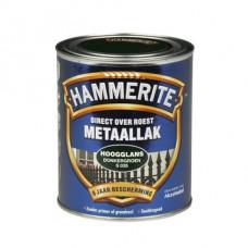 HAMMERITE METAALLAK HOOGGLANS GROEN 250 ML S030