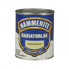 HAMMERITE RADIATORLAK GEBROKEN WIT 750 ML