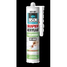 BISON SUPER ACRYLAAT SCHILDERSKIT WIT 300 ML