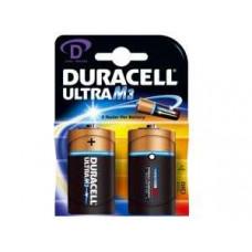 BATTERIJ 1.5V DURACEL ULTRA POWER D (2 ST)