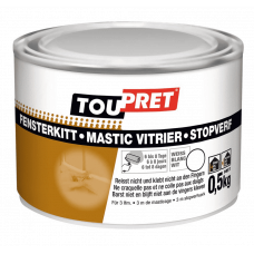TOUPRET STOPVERF WIT 0.5 KG