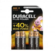 BATTERIJ DURACELL PLUS POWER AA (4 ST)