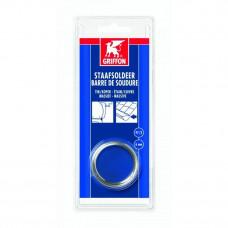 GRIFFON STAAFSOLDEER TIN/KOPER 97/3 MASSIEF 6 MM 100 G