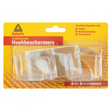 HOEKBESCHERMERS TRANSPARANT (4 ST)