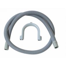 PLIEGER PVC (VAAT)WASMACHINE AFVOERSLANG 1.5 METER