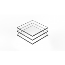 PLEXIGLAS / DECOGLASS GLASHELDER 4 MM 200 X 125 CM